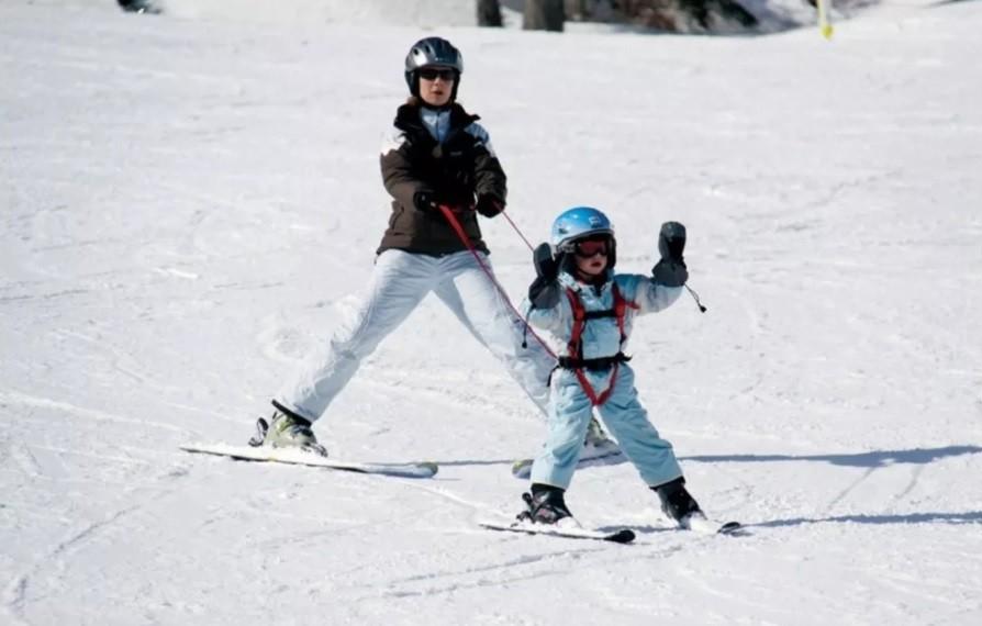 Система поддержки для обучения детей езды на лыжах. фото №1