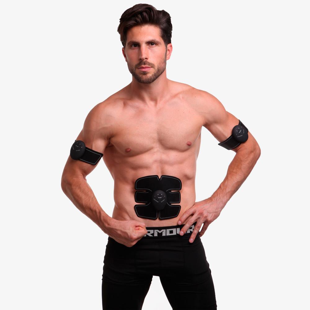 Миостимулятор для тренировки всех групп мышц smart fitness 0324: силикон, abs-пластик, металл фото №1