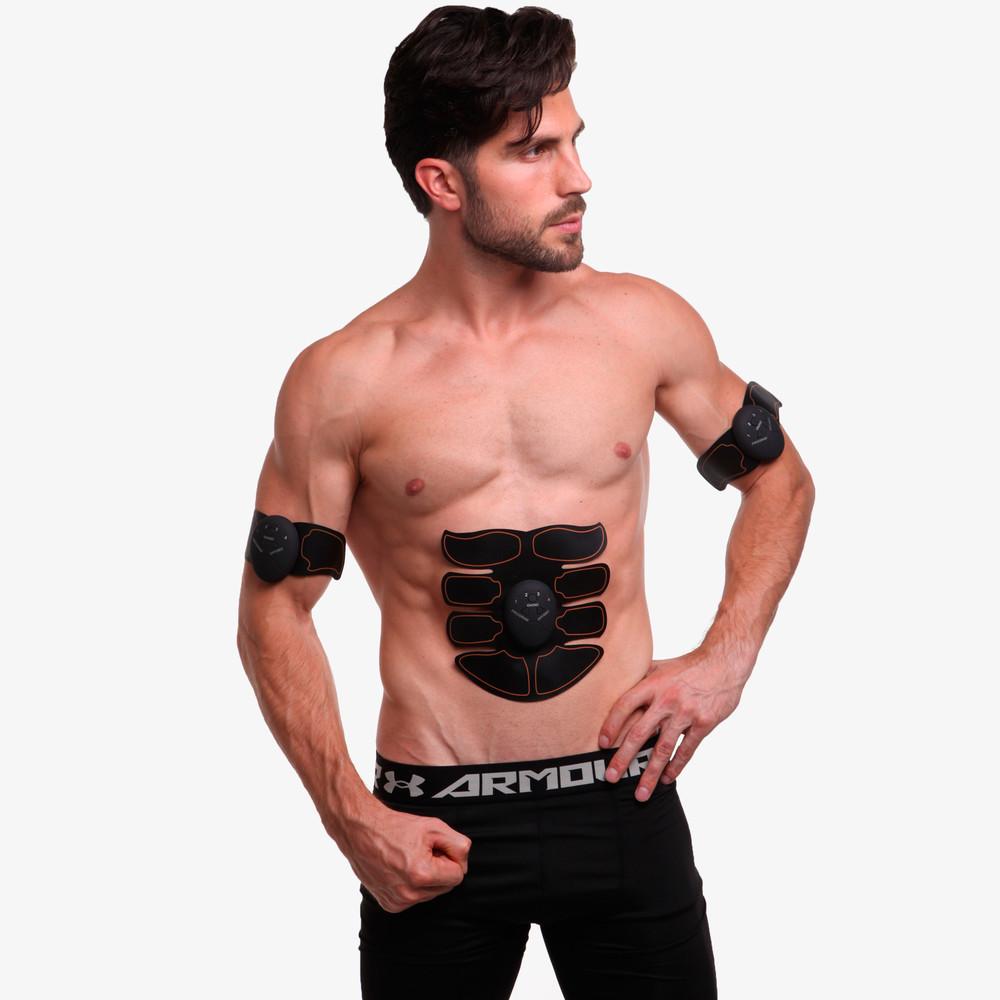 Миостимулятор для тренировки всех групп мышц smart fitness 0322: силикон, abs-пластик, металл фото №1