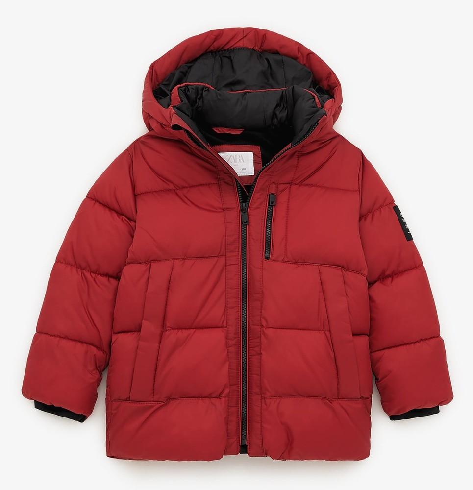 Демисезонная куртка для мальчика zara испания размер 116, 122, 128 оригинал фото №1