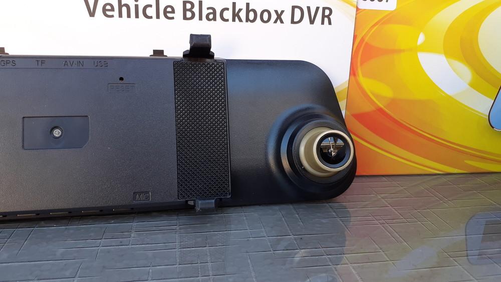 Зеркало видеорегистратор с камерой заднего вида /разметка для парковк фото №1