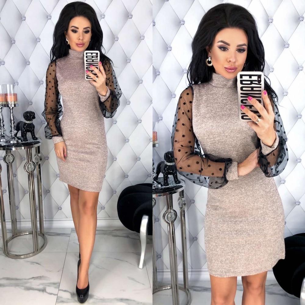 Красивое нарядное платье мини рр с 40 по 50 в наличии фото №1