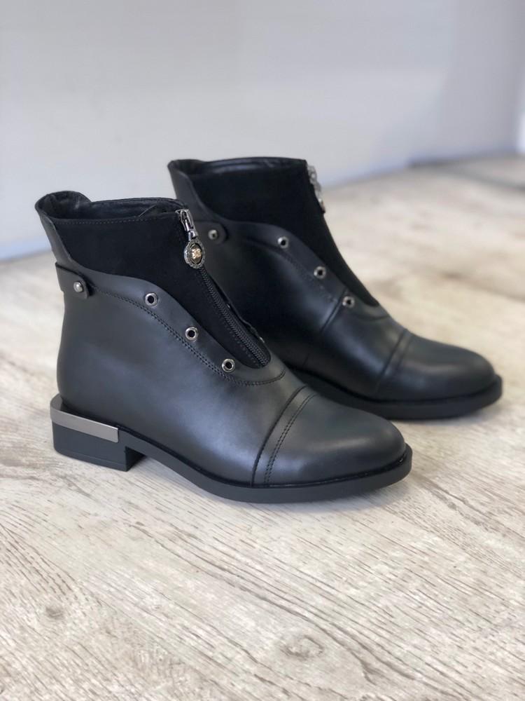 Новинка ! стильные ботинки , натуральная кожа, зима! фото №1