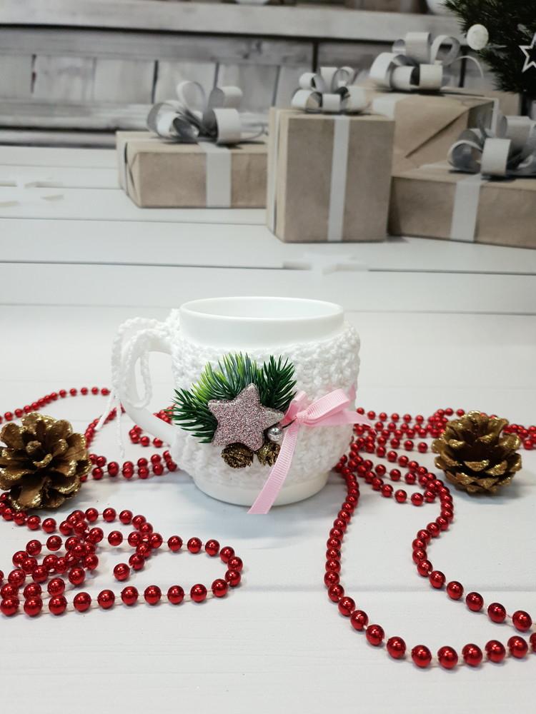Подарок для близких людей. чехол на кружку. подарок на новий рік. подарок . фото №1