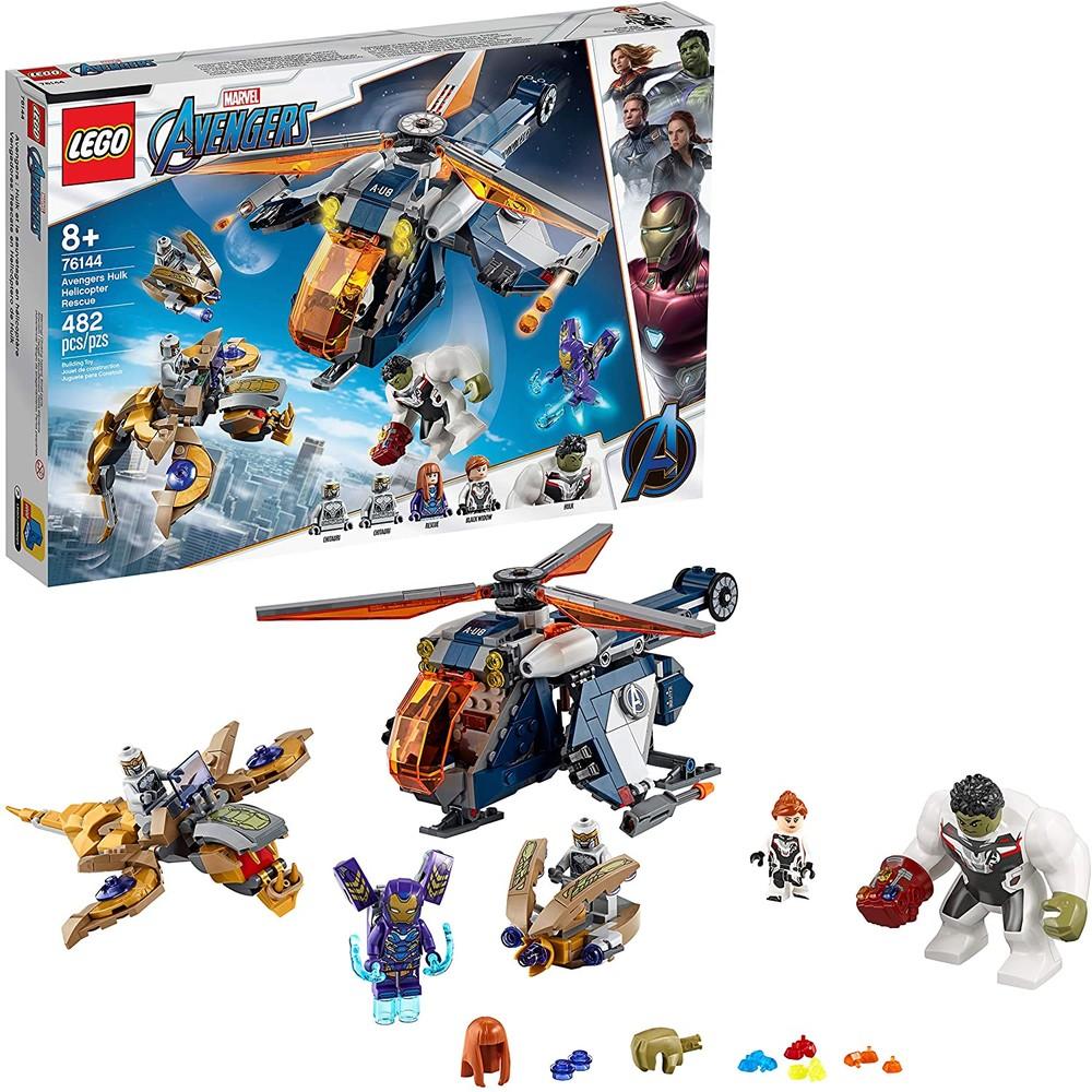 Lego marvel 76144 спасение халка на вертолёте фото №1