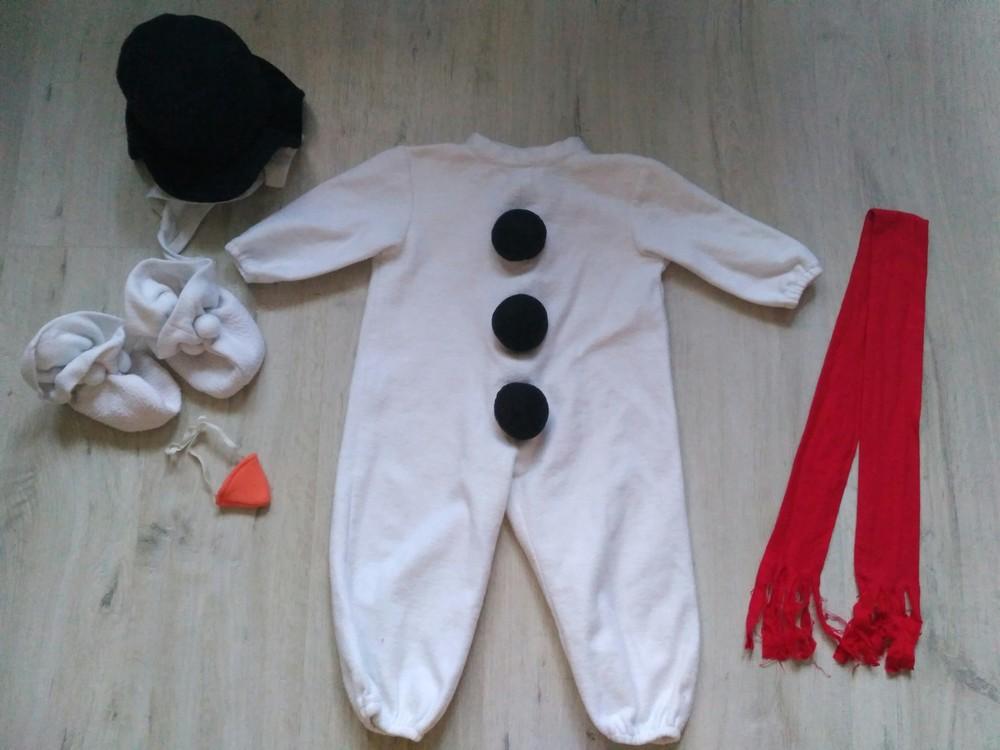 Новогодний костюм снеговика и нового года. прокат. киев фото №1