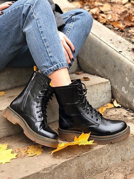Ботинки кожа натуральная, цвета, тренд 2020 , 36-40р фото №1