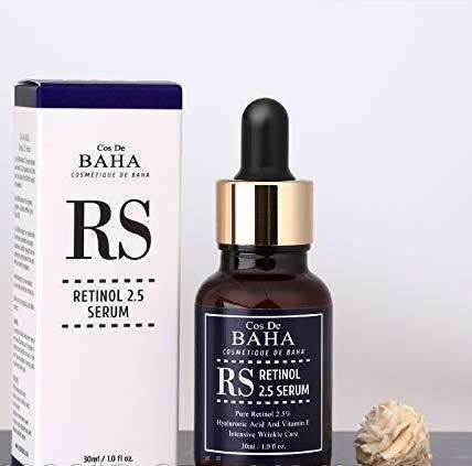 Cos de baha retinol 2.5% serum сыворотка с ретинолом 2.5% и витамином е фото №1