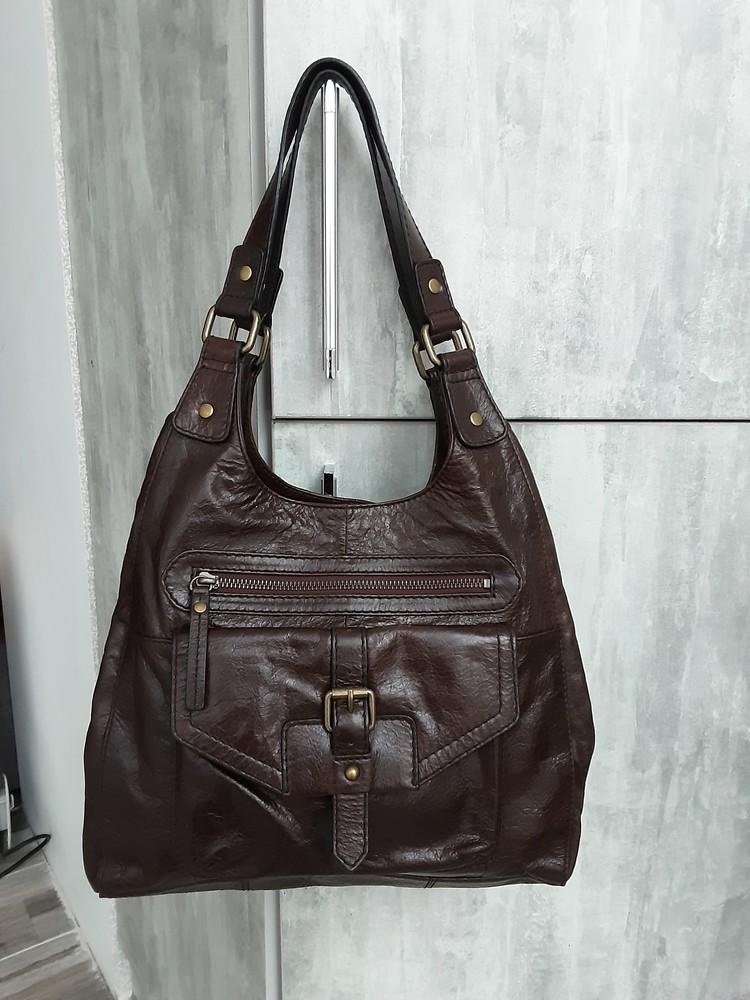Кожаная сумка marks&spencer фото №1