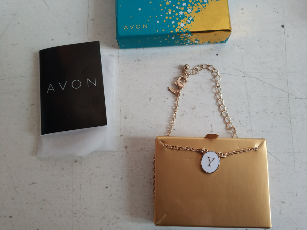 """Цепочка с подвеской """"y"""" американского бренда avon фото №1"""