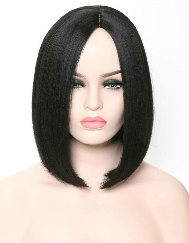 Парик каре черные волосы (арт 2835) фото №1
