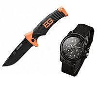Нож gerber bear grylls ultimate и часы swiss army фото №1