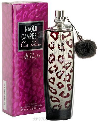 Женская туалетная вода naomi campbell cat de luxe at night 75 ml фото №1