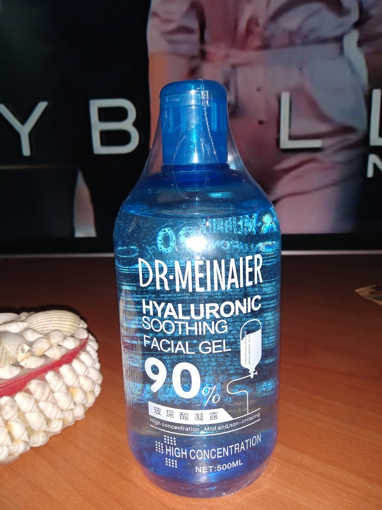 Гель для лица с гиалуроновой кислотой dr. meinaier soothing gel collection hyaluronic soothing facia фото №1