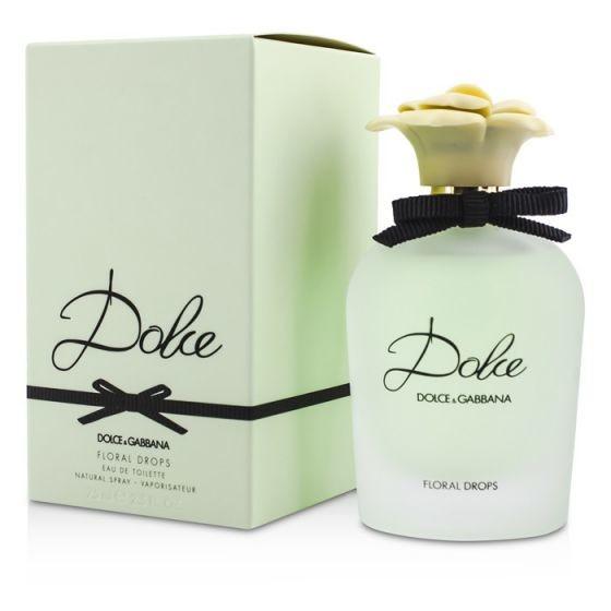 Женская туалетная вода dolce gabbana dolce floral drops edt 75ml фото №1