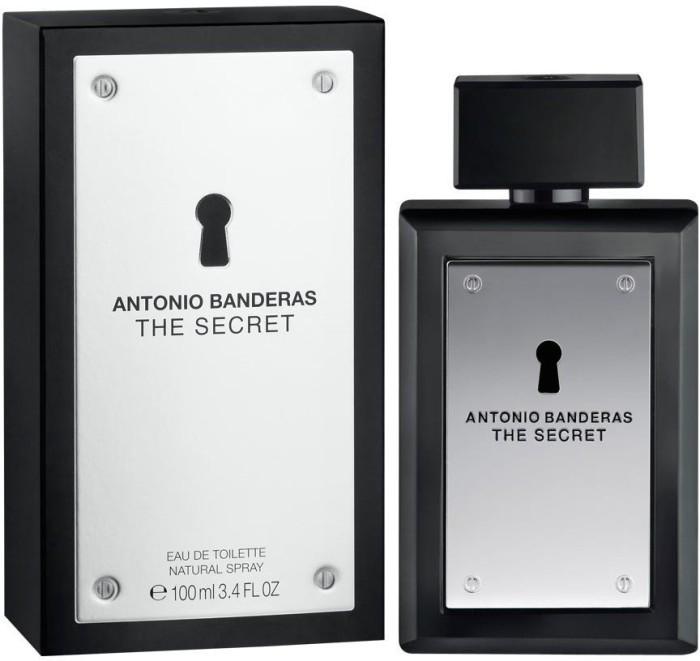 Мужская туалетная вода antonio banderas the secret 100 ml фото №1