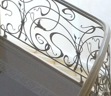 Кованые лестницы фото №1