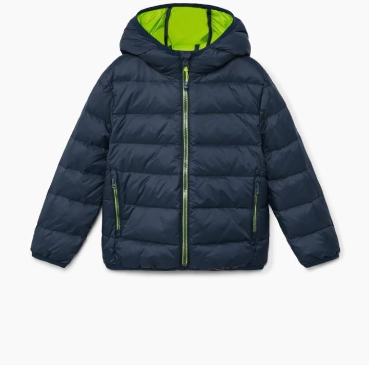 Р.104-110, mango мега лёгкая термо-куртка деми пуховик фото №1