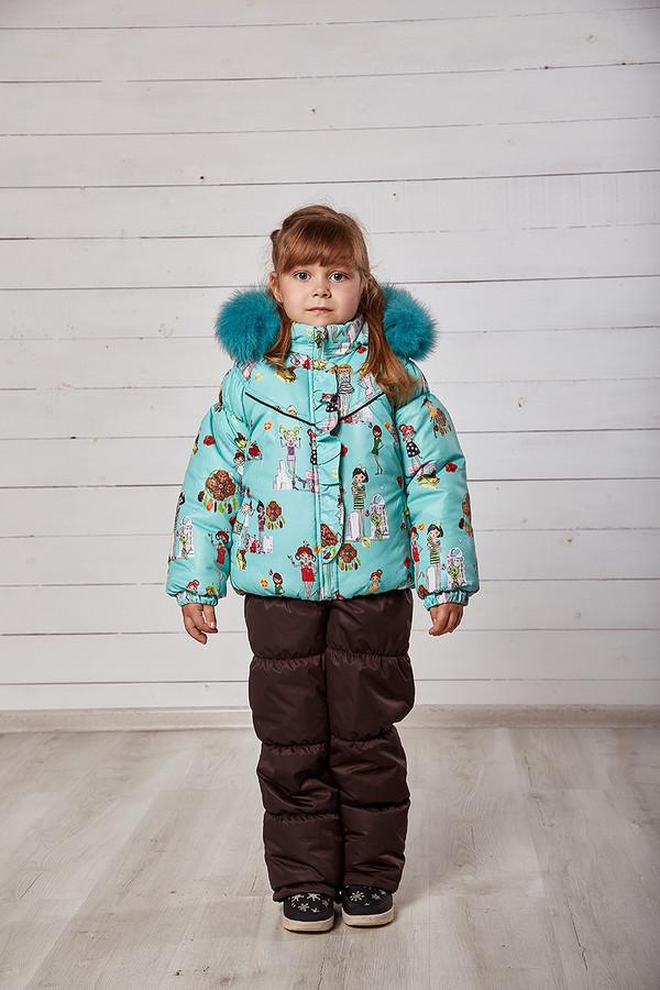 Детская зимняя куртка с комбинезоном фото №1