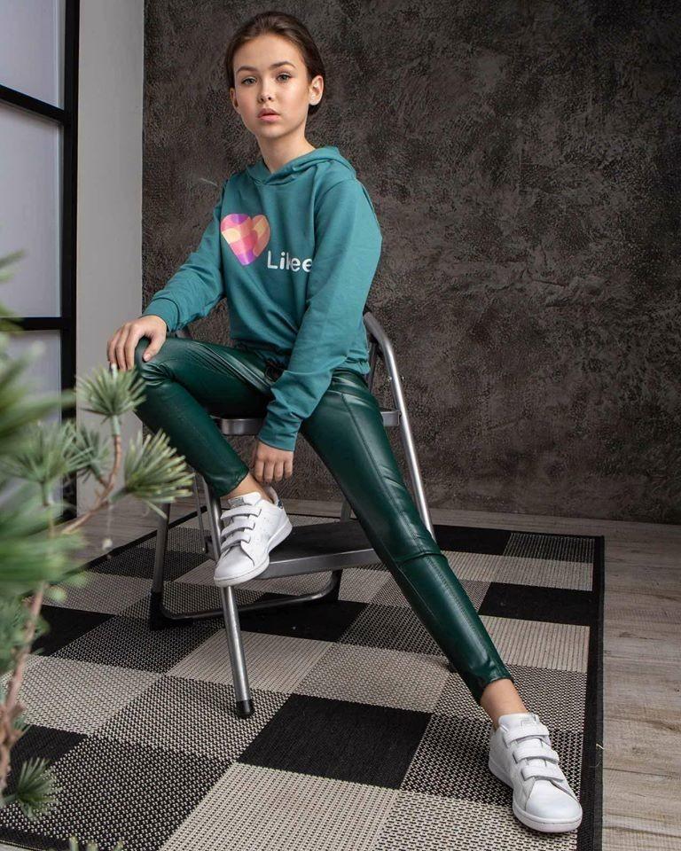 Модные лосины для девочки фото №1