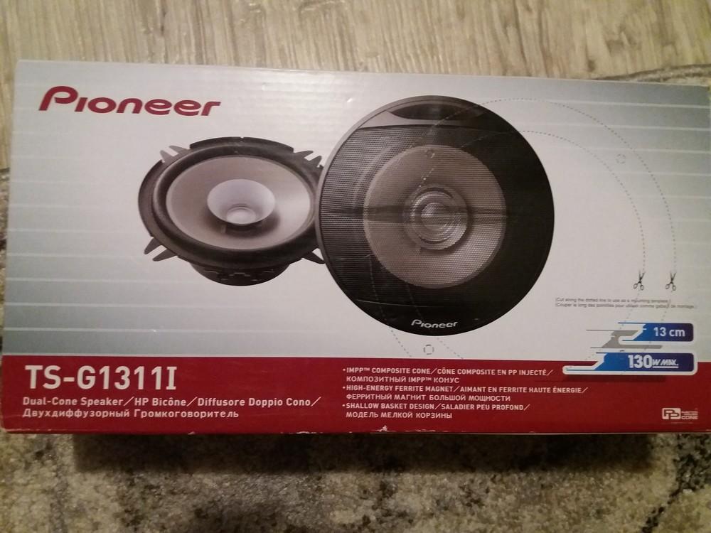 Продам автоакустика pioneer ts-g1311i фото №1