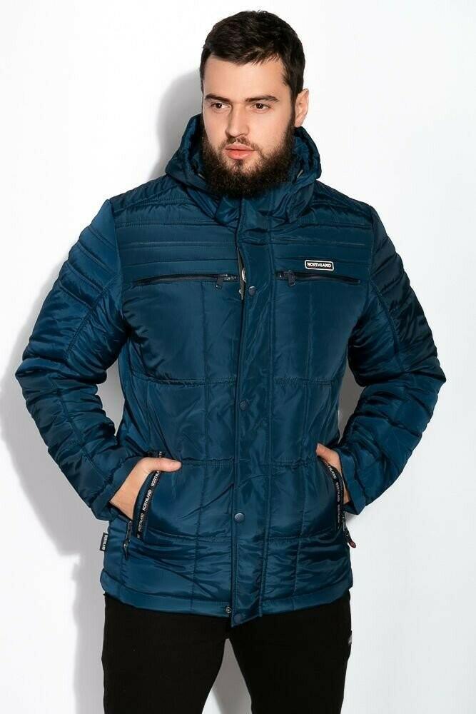 Мужская зимняя куртка на синтепоне, s,m,l,xl, 120psam008-1 фото №1