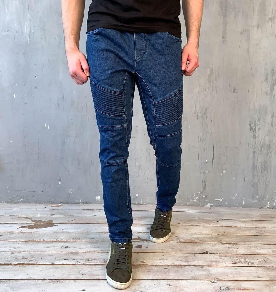 Мужские джинсы джогеры фото №1