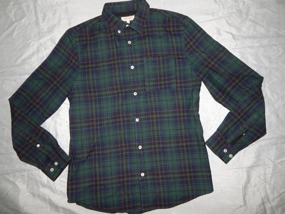 River island рубашка мужская стильная модная рм фото №1