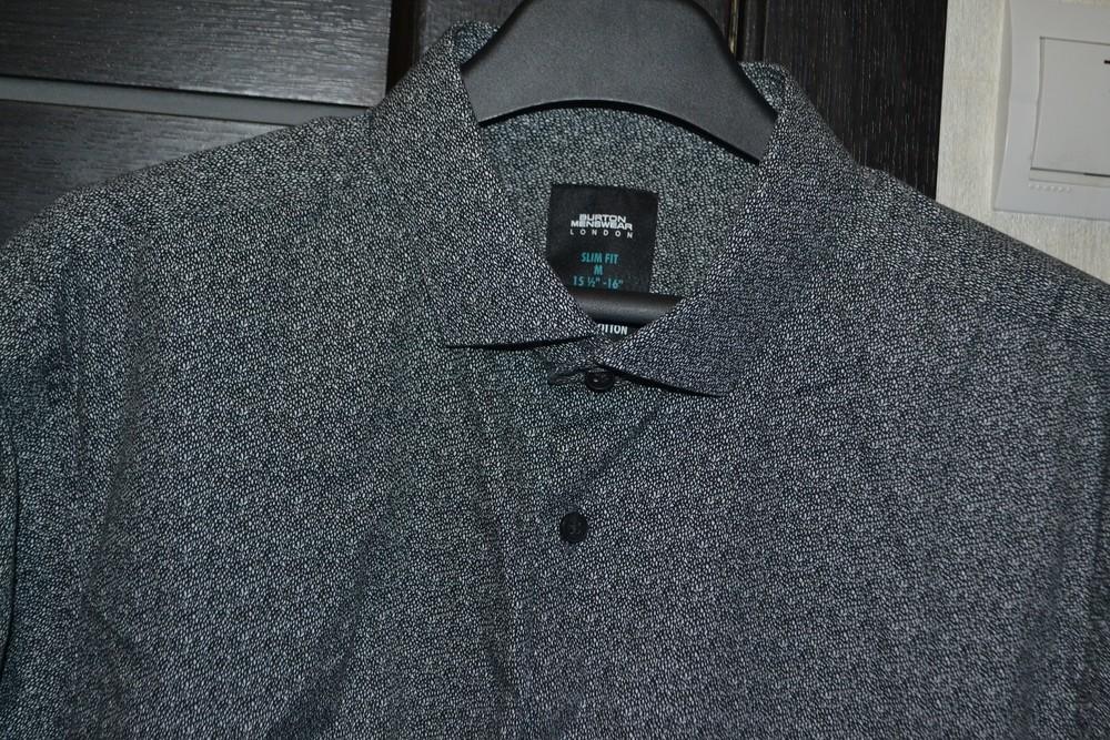 Новая рубашка ф. burton р. с- м коттон фото №1