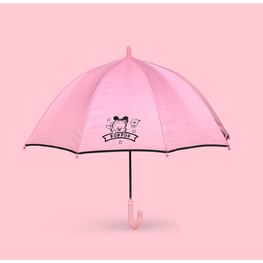 Детский зонтик, розовый. dog. фото №1