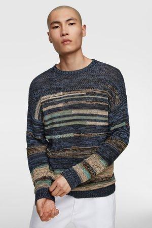 Оригинальный стильный свитер zara - l фото №1