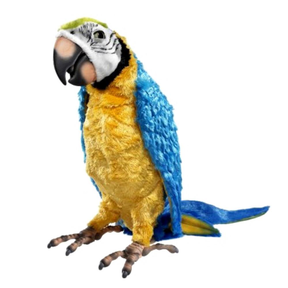 Интерактивная эксклюзивная игрушка попугай 'умный кеша', hasbro фото №1