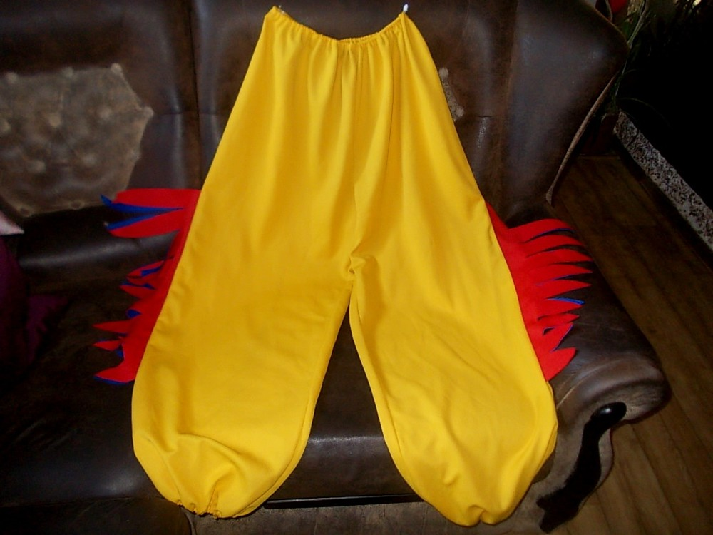 Брюки штаны для костюма петушка 60 размера фото №1