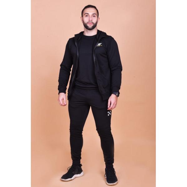 Мужской спортивный костюм 1259 тройка фото №1