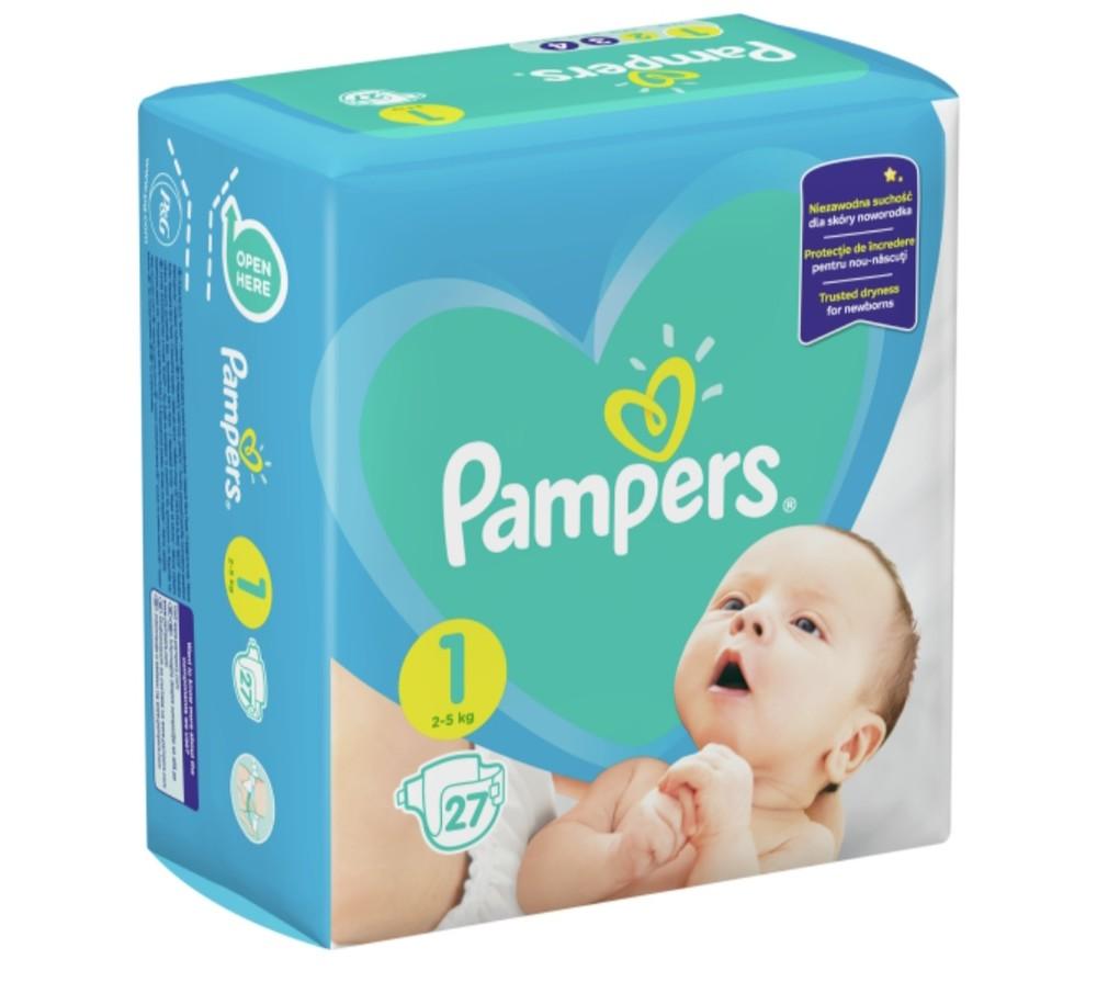 Подгузники pampers (памперс) active baby (1) фото №1