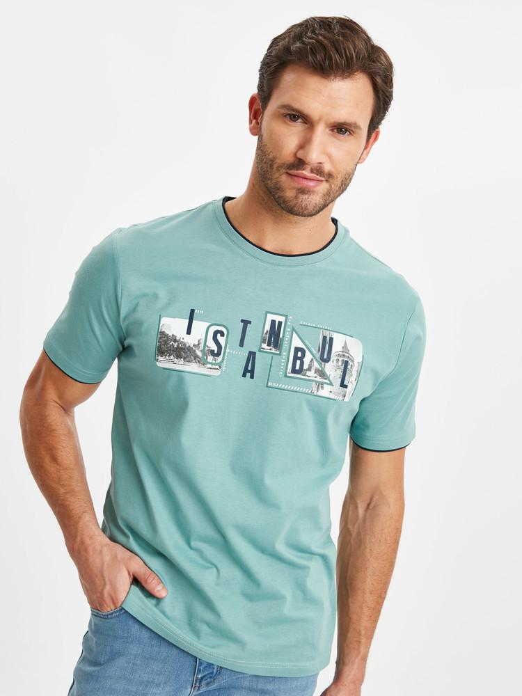 Мужская футболка lc waikiki / лс вайкики istanbul фото №1