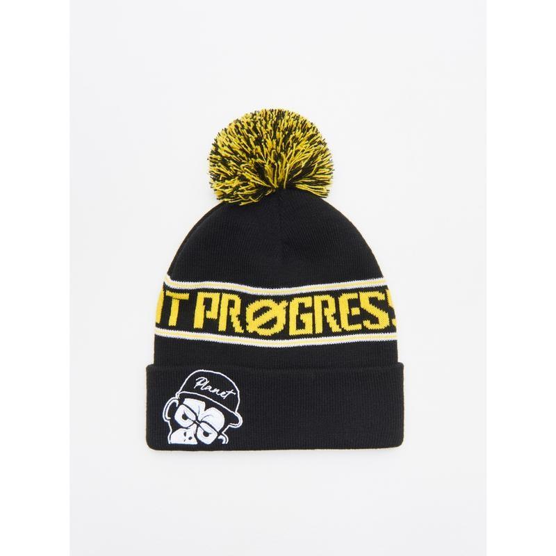 Двойная шапка унисекс польского бренда cropp accessories европа оригинал фото №1
