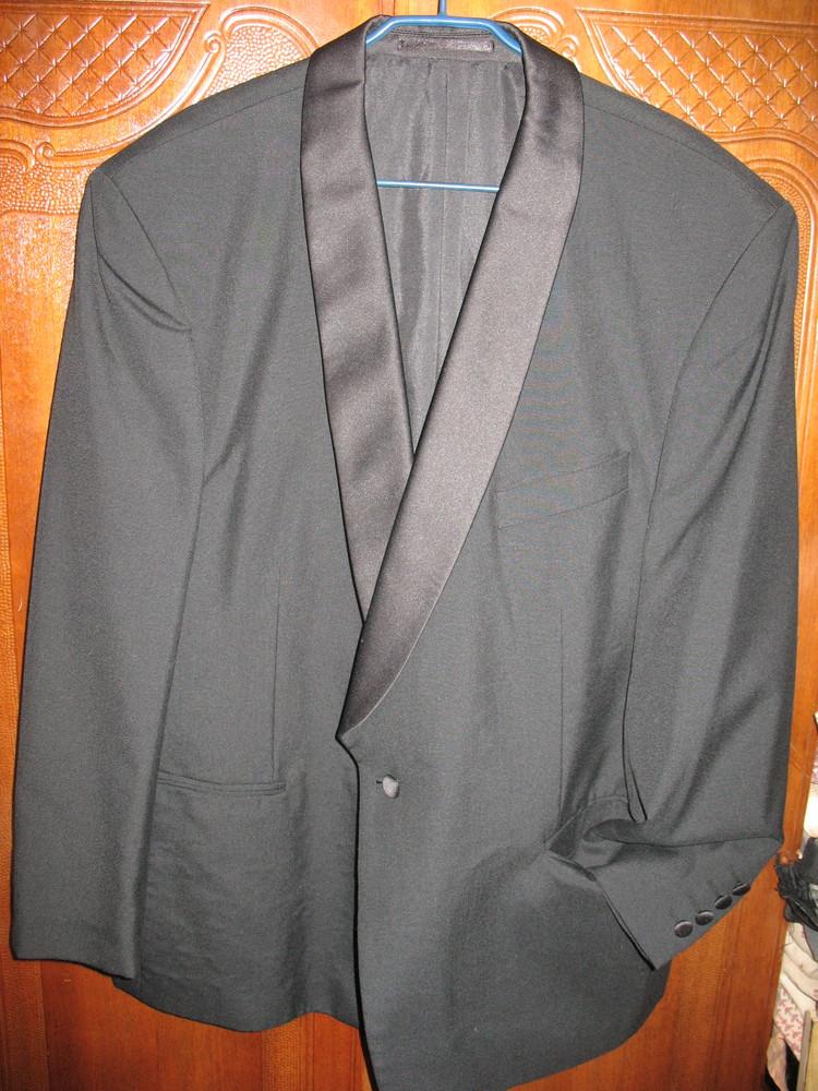 Пиджак-смокинг,разм.54-56.нюанс. фото №1