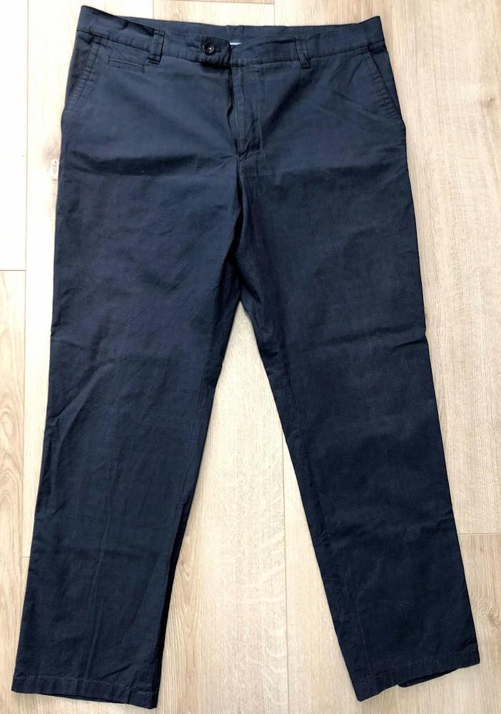 Брюки легкие pantaloni aderente sports размер 50 slim fit фото №1