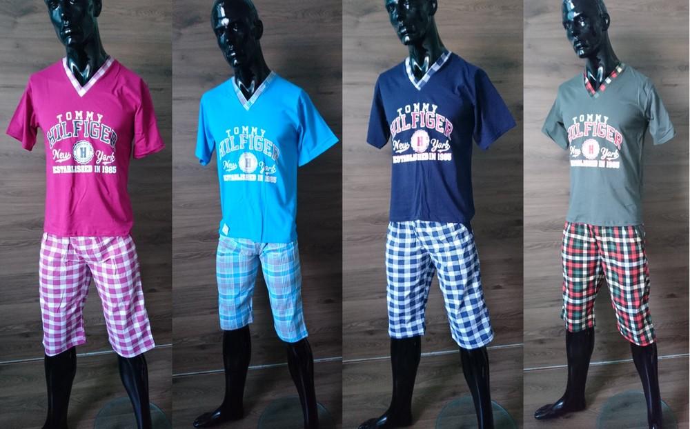 Пижамы мужские с бриджами фото №1