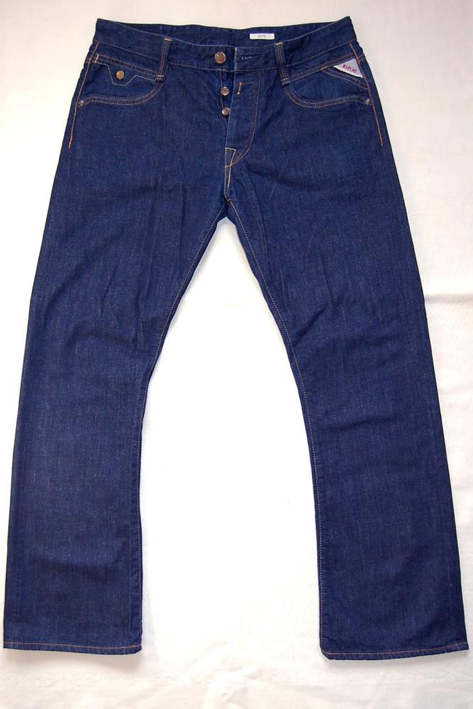 Джинсы replay blue jeans р.34/32 original tunisia фото №1