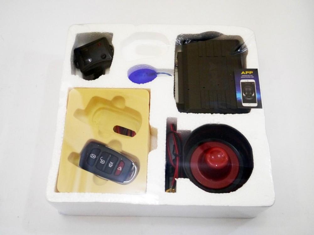 Автосигнализация car alarm kd 3000 (управление с приложения) фото №1