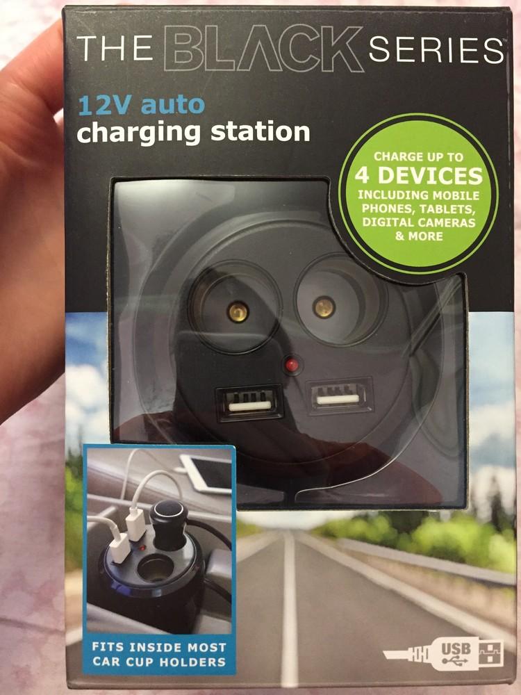Автомобильное зарядное устройство фото №1