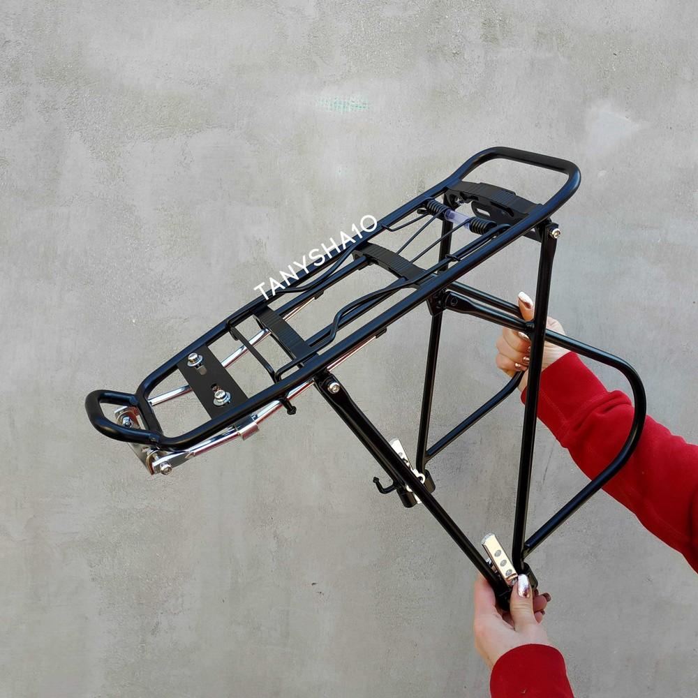 Багажник для велосипеда задний 26-29 велобагажник алюминиевый фото №1