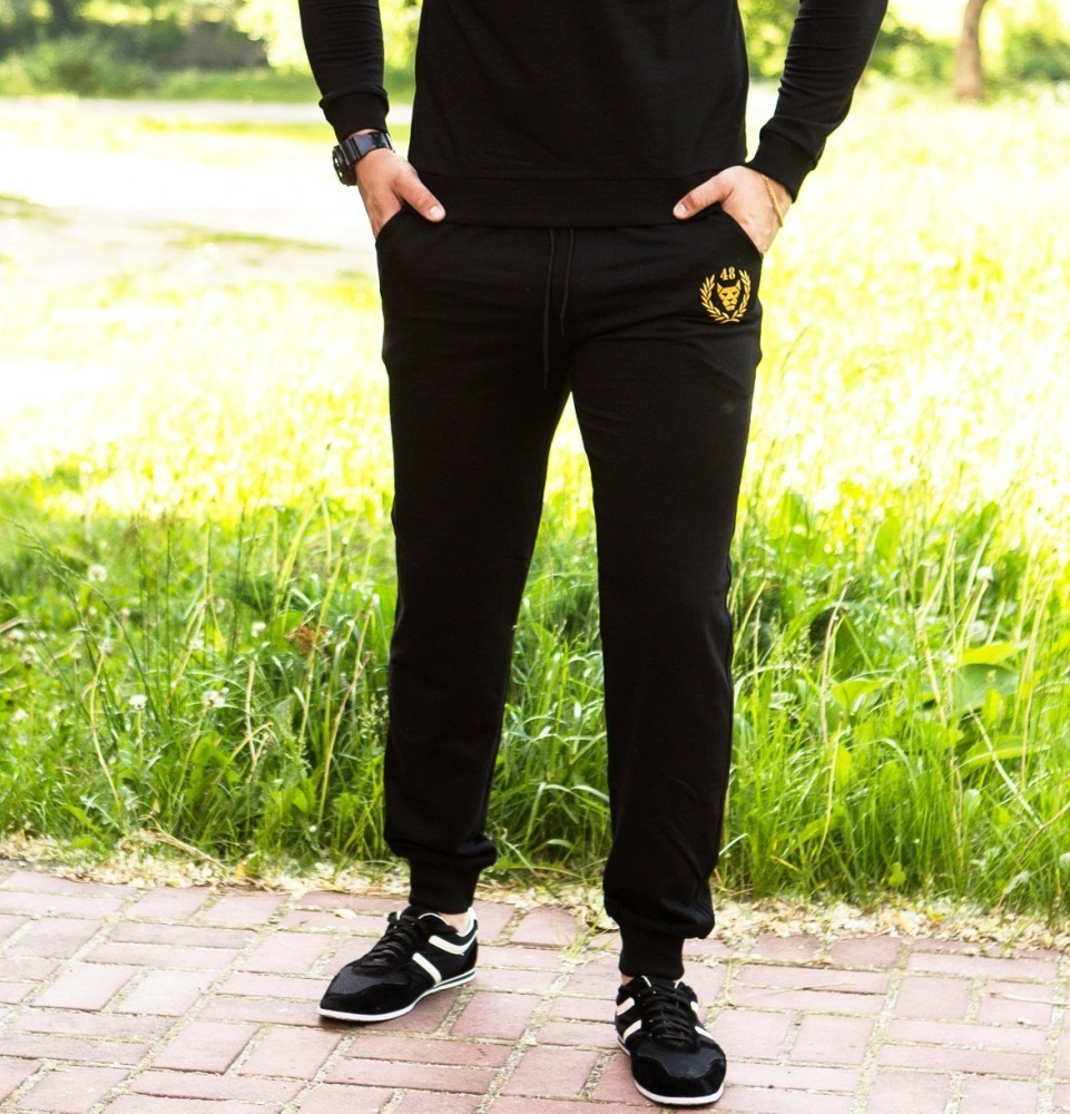 Спортивные штаны miracle gold universal black фото №1