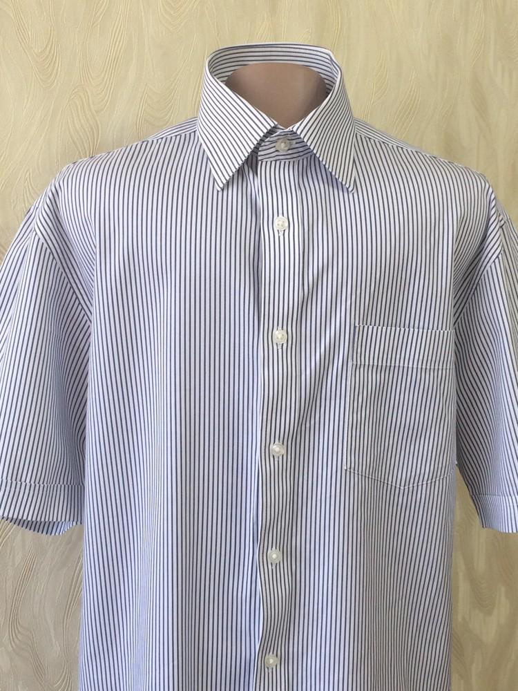 Качественная приятная рубашка 100% котон marks&spence, р.50 фото №1