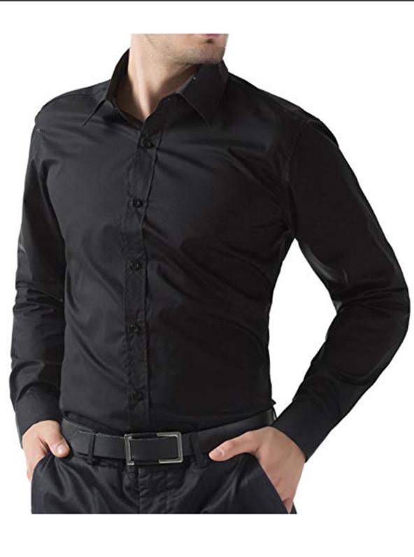 Стильная черная рубашка cedar wood state, р.54 фото №1