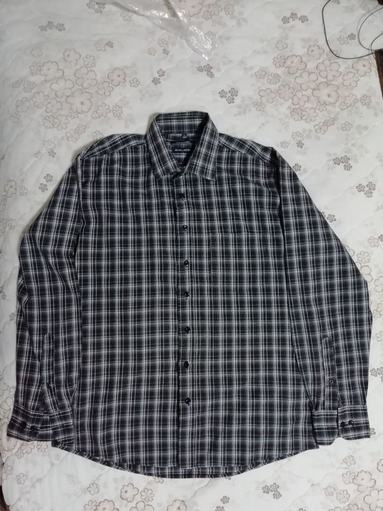 Рубашка мужская magic р. l ворот 41-42 фото №1