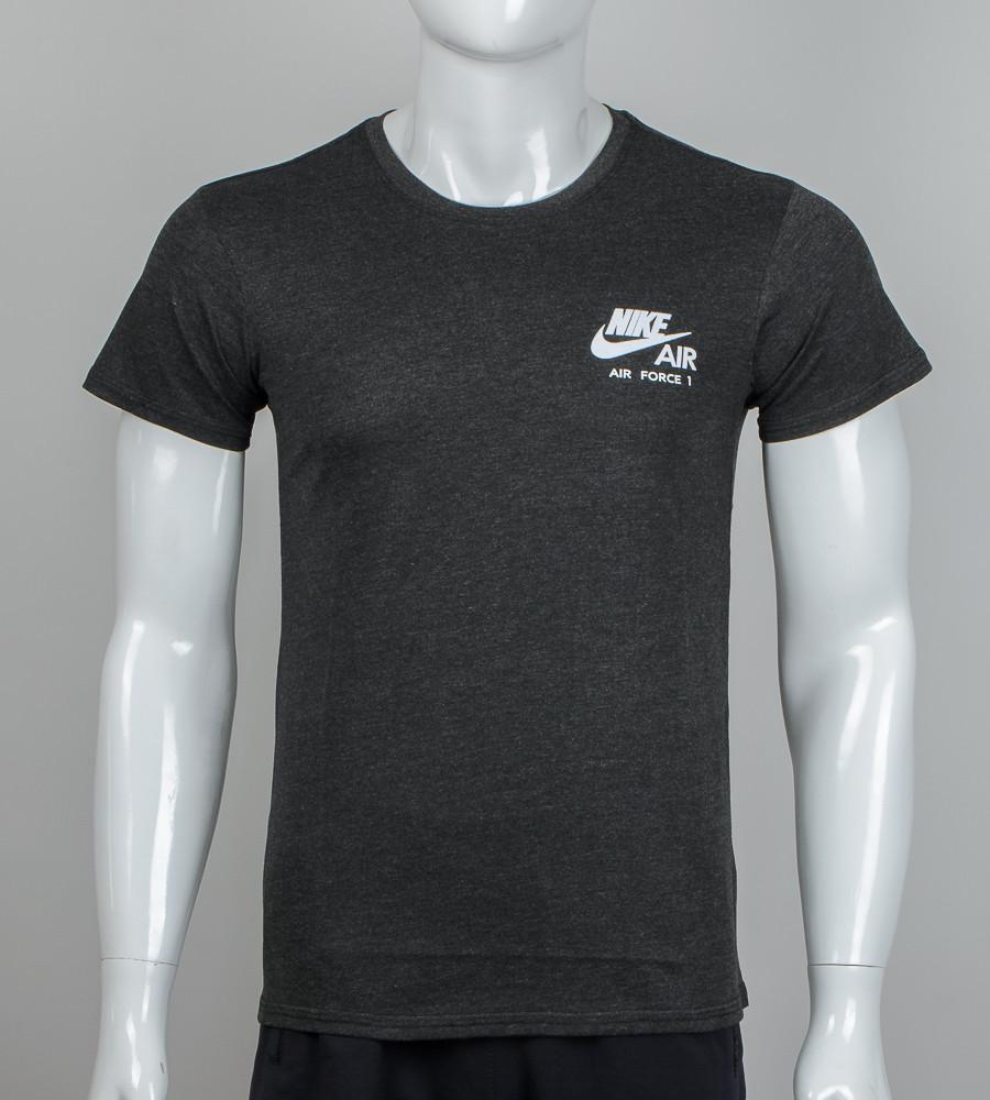 Футболка батальная с логотипом nike большие футболки найк футболка великого розміру найк фото №1