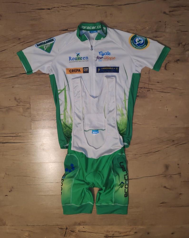 Велокомплект шорты с лямками и футболка bio-racer (made in begium) фото №1